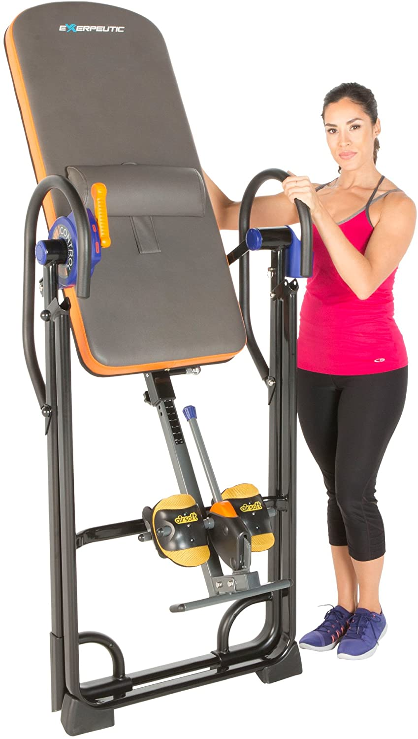 Exerpeutic 975SL Heavy Duty Inversion Table