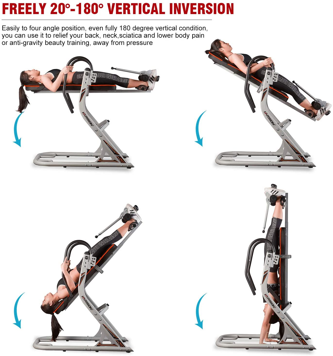 HARISON Heavy Duty Inversion Table