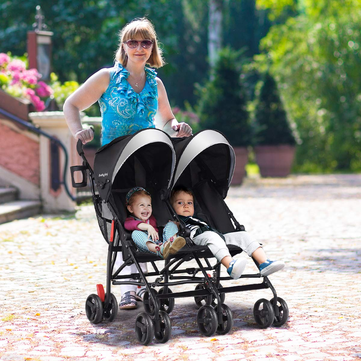 Baby Joy Double Light-Weight Stroller