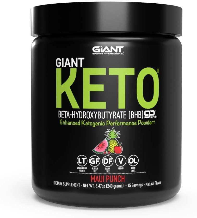 Giant Keto- Exogenous Ketones Supplement