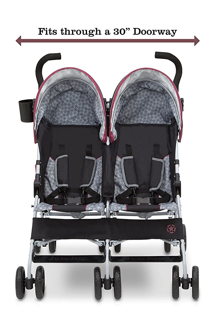 Jeep Scout Double Stroller 1