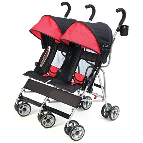 Kolcraft Cloud Double Umbrella Stroller