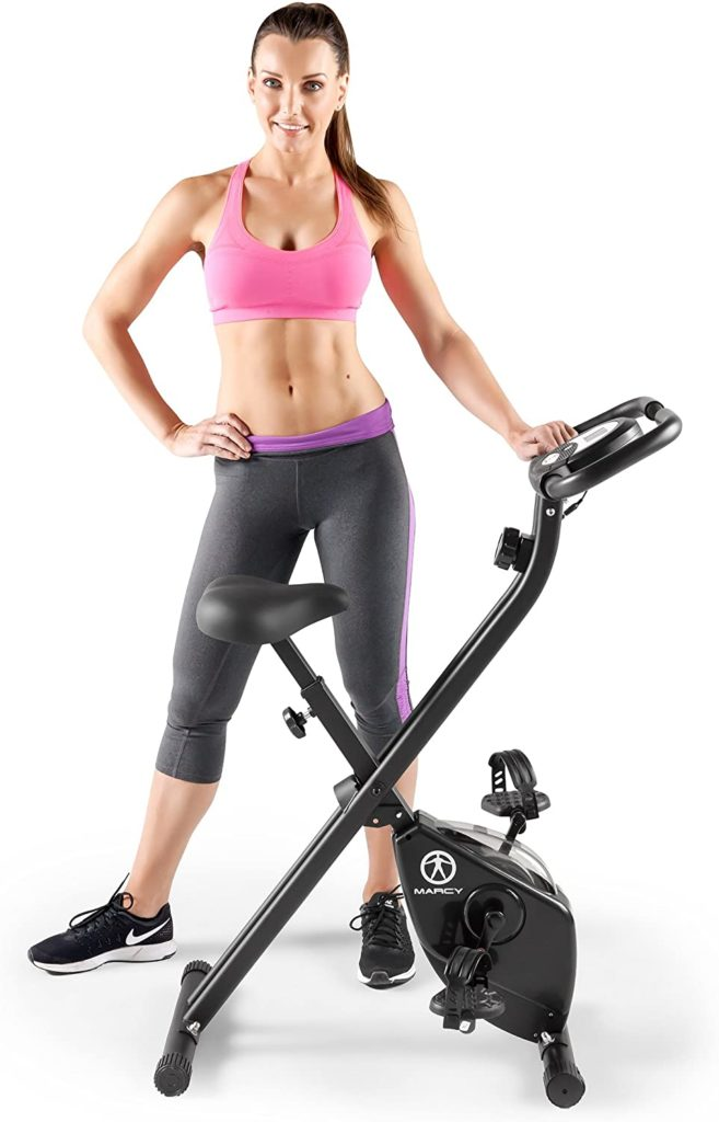 Marcy Folding Upright Exercise Bike NS-654