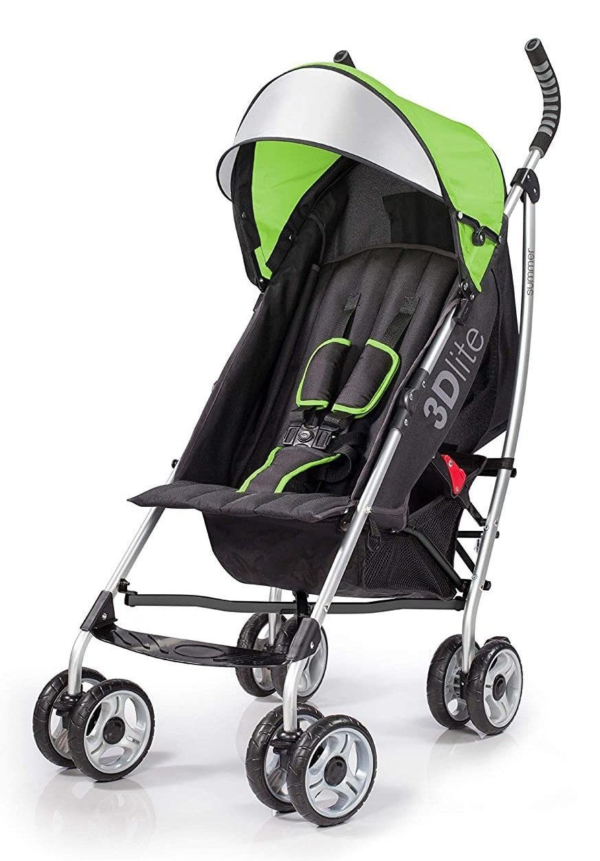 Summer Infant 3Dlite Stroller for Travel and More