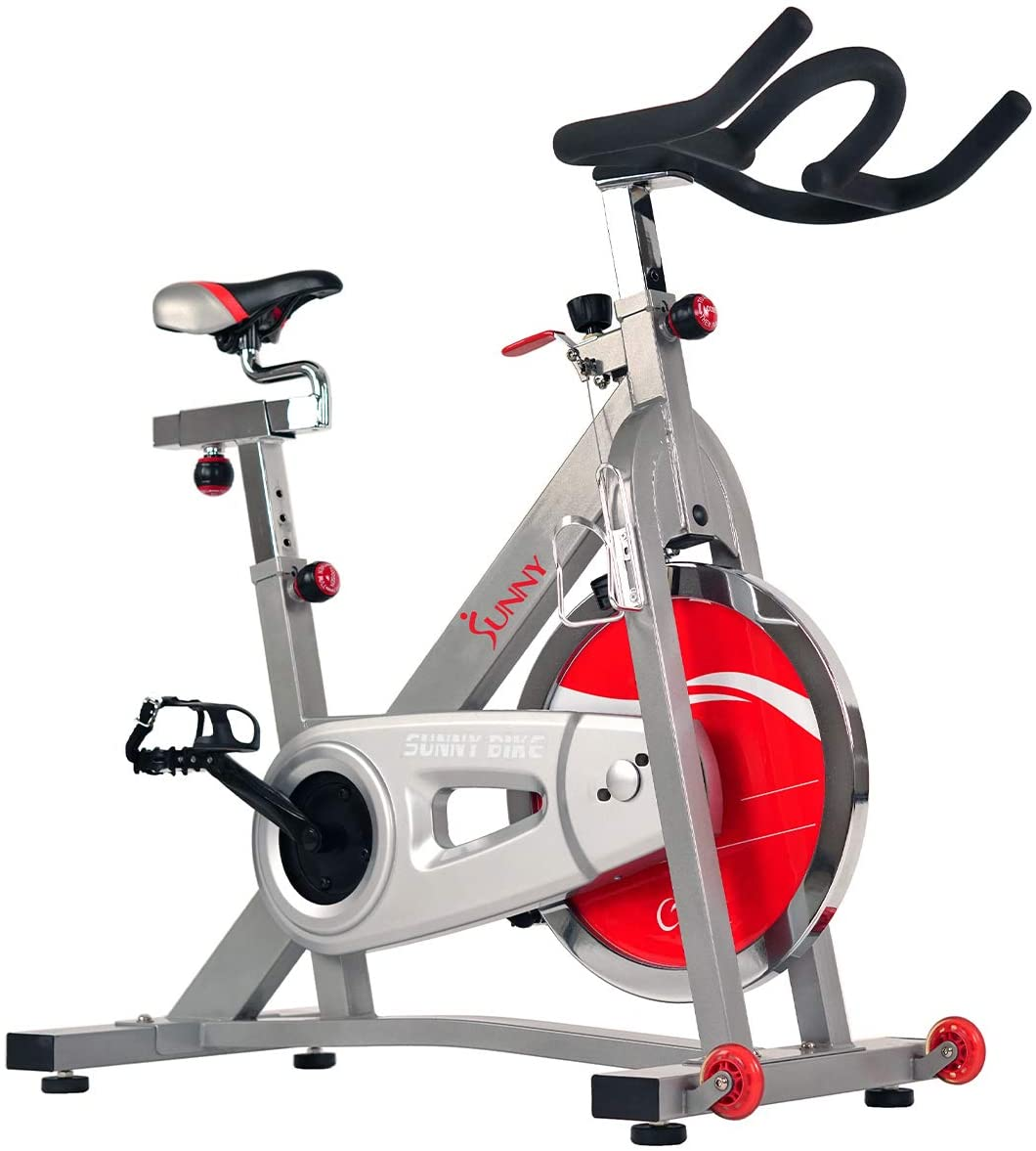 Sunny Health & Fitness 40 lbs. Pro Indoor Cycling Bike