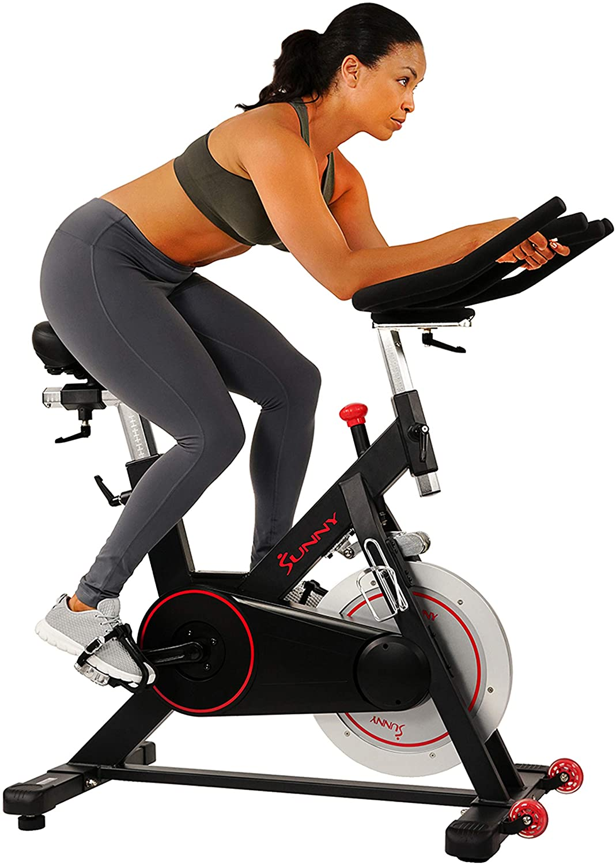 Sunny Health & Fitness Evolution Magnetic Belt Drive Bike