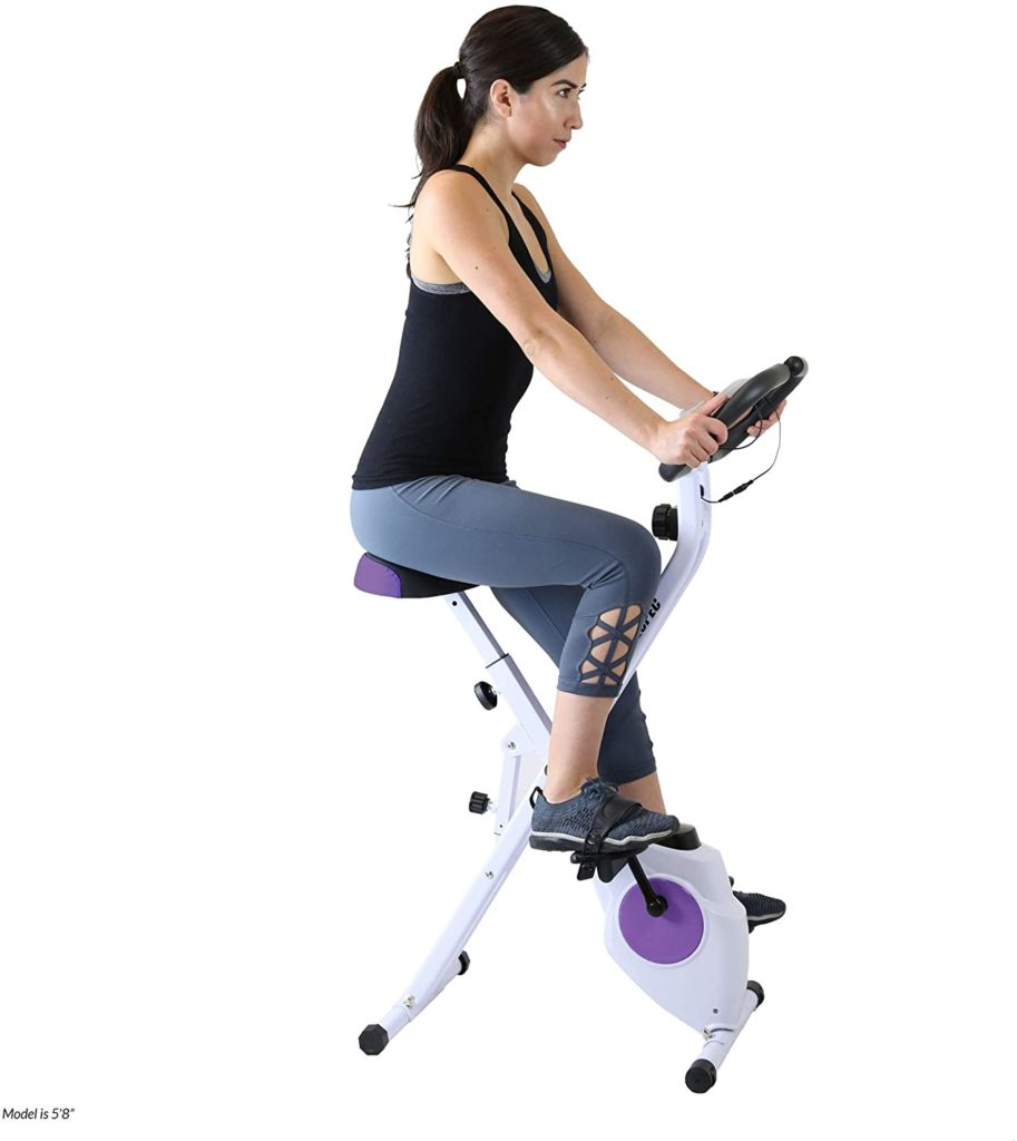 Xspec Indoor Foldable Stationary Cycling Bike