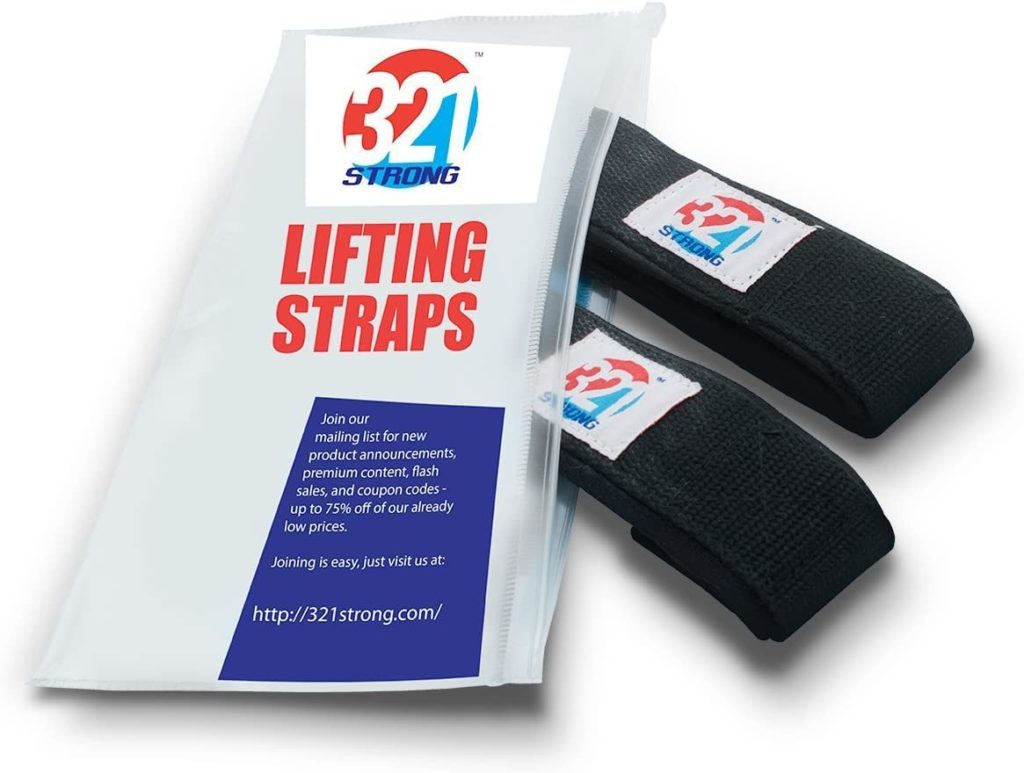 321 Strong Lifting Straps
