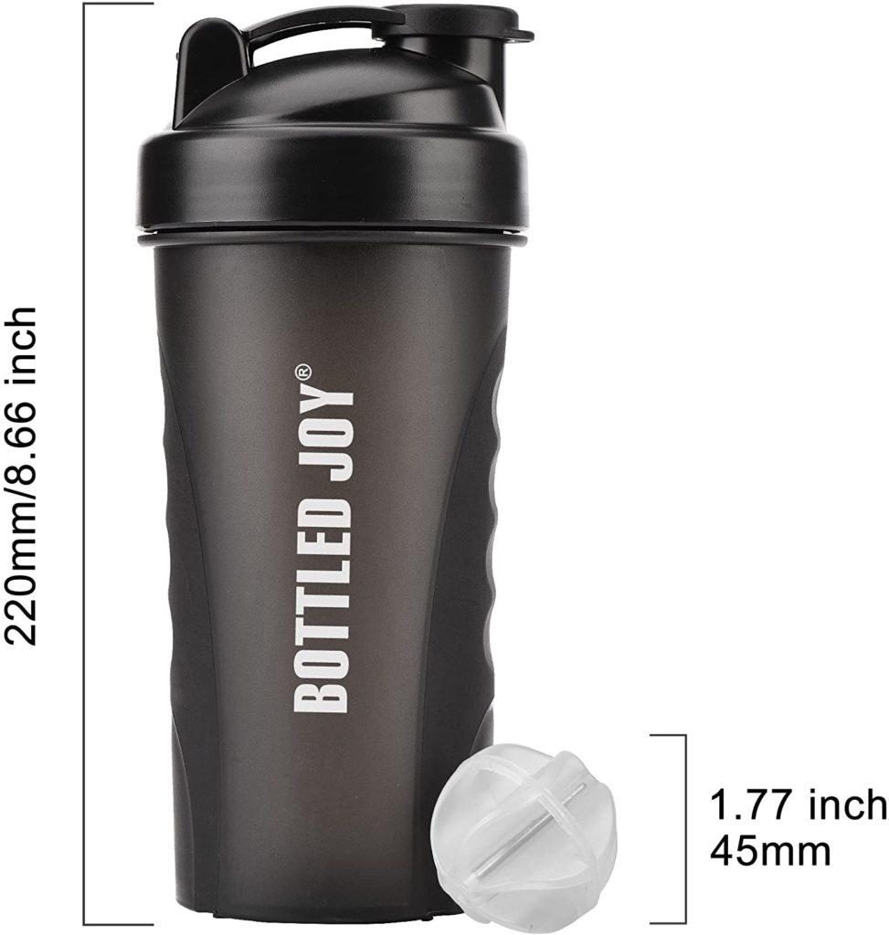 BOTTLED JOY Protein Shaker Bottle