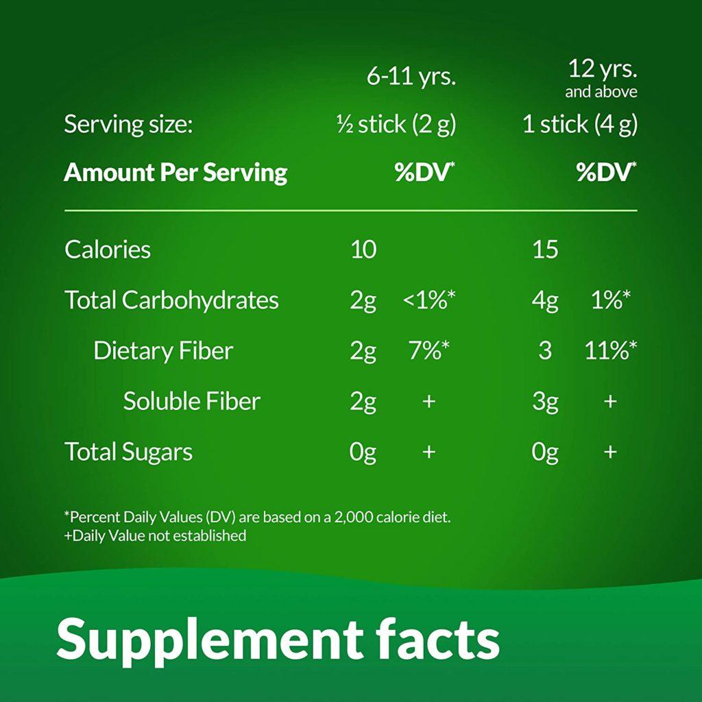 Benefiber Daily Prebiotic Fiber Supplement