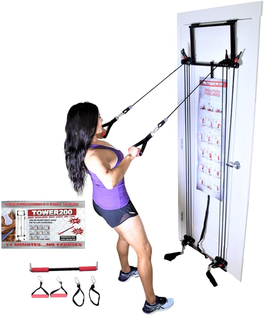 Body By Jake Tower 200 Complete Door Gym