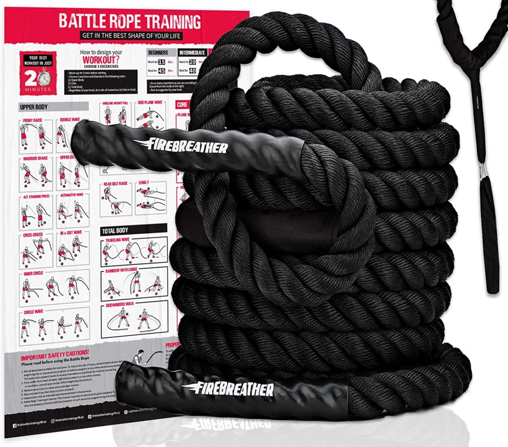Firebreather Battle Rope