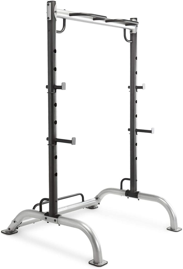 Marcy Cage Squat Rack Pull Up and Push Up Station