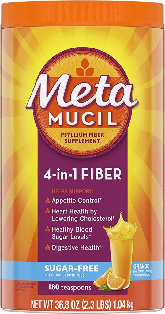 Metamucil Sugar-Free Fiber Supplement