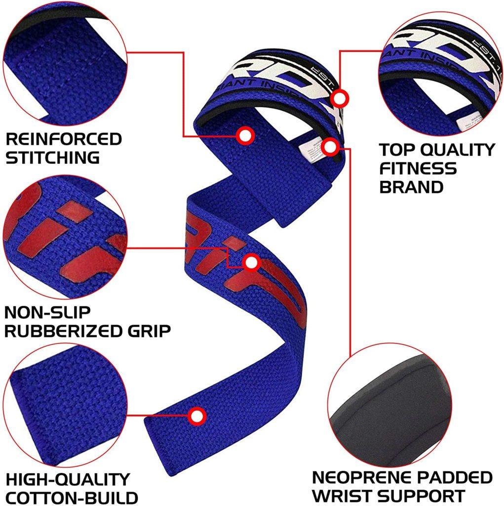 RDX Weight Lifting Straps