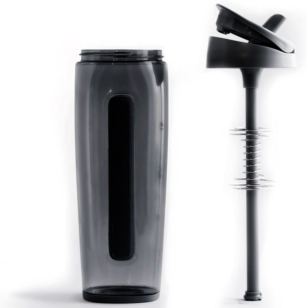 Trimr Duo Square Water & Shaker Bottle