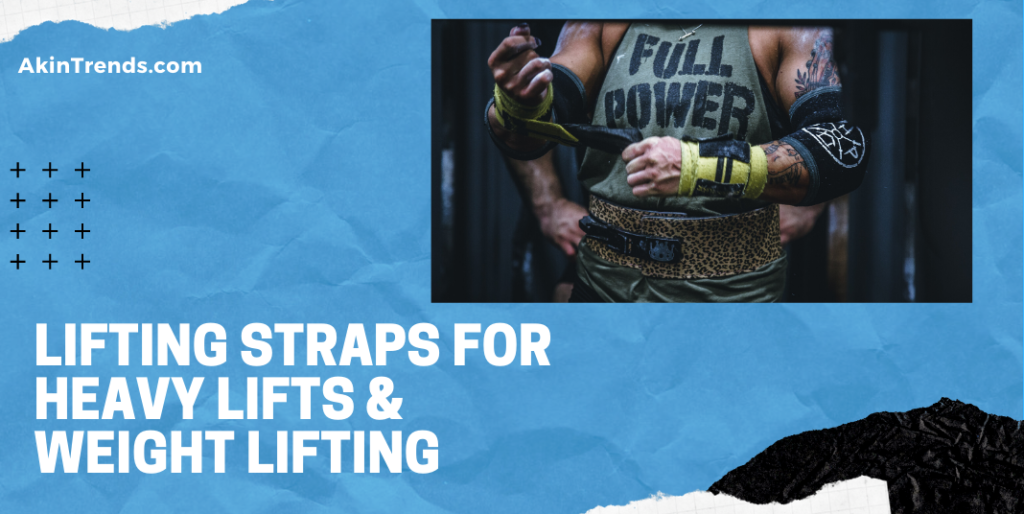 Lifting Straps for Heavy lifts & Weight Lifting