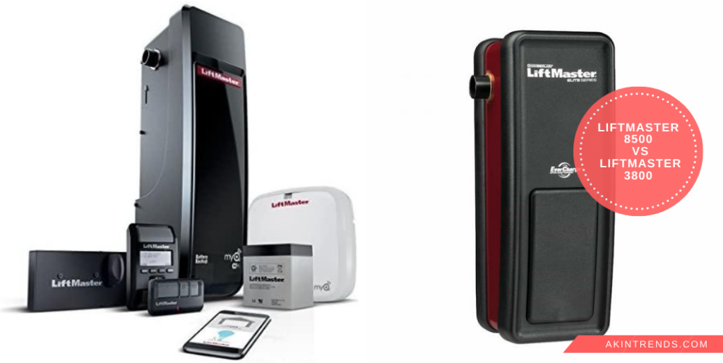 Liftmaster 8500 vs Liftmaster 3800