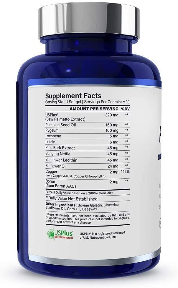 1MD ProstateMD Supplement sheet
