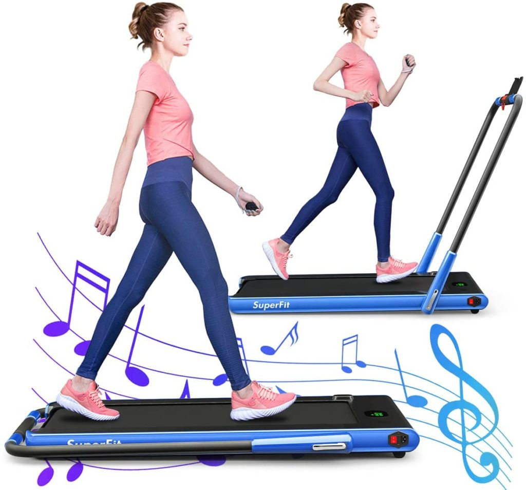 GYMAX Walking Treadmill