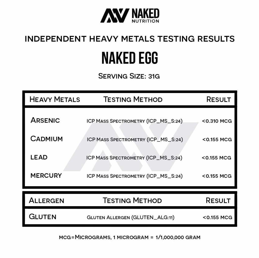 Naked Egg Protein Powder