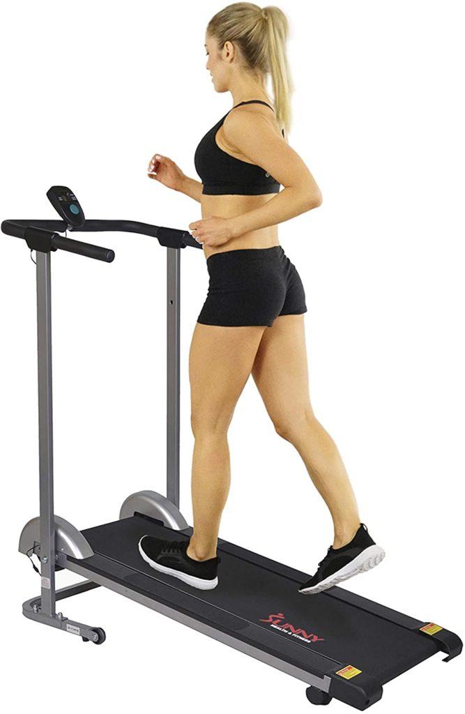 Sunny Health & Fitness SF- T1407M Walking Treadmill