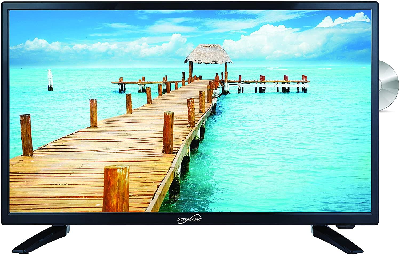 """SuperSonic 24"""" SC-2412 LED HDTV"""