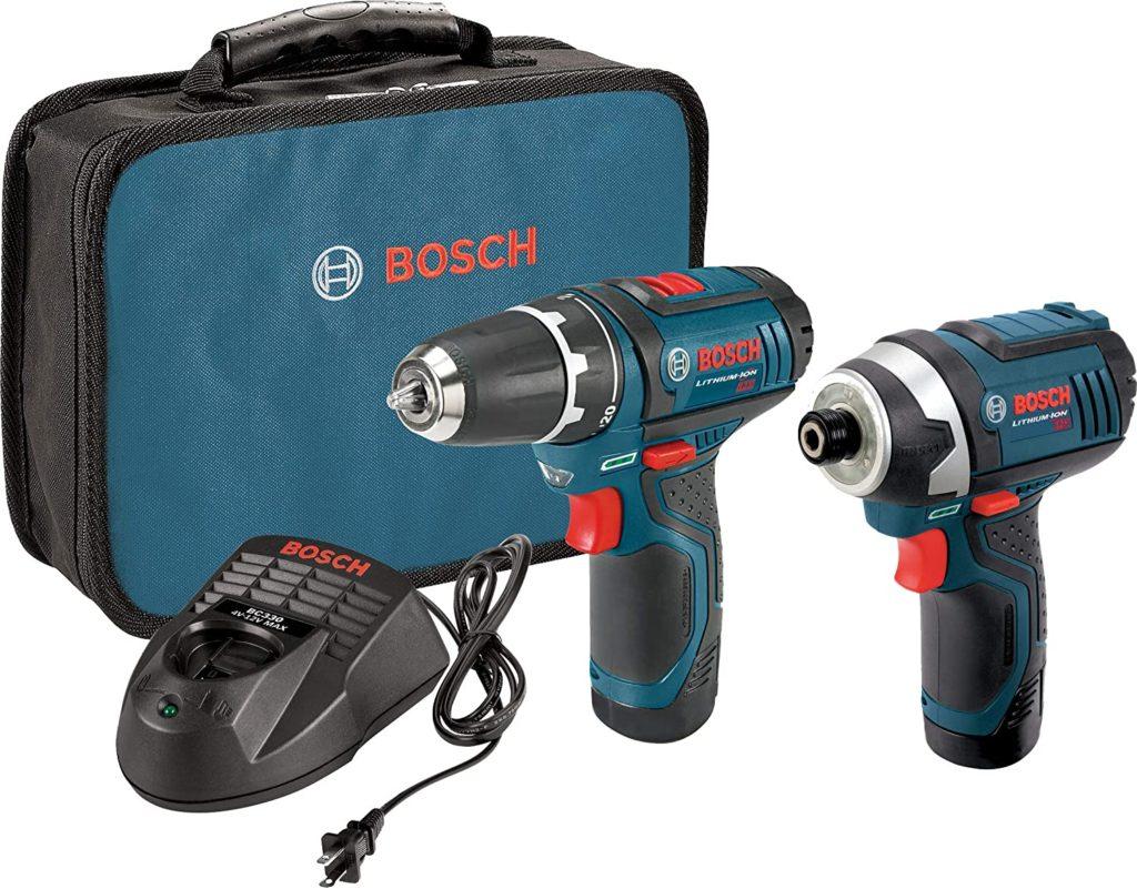 Bosch 12V Cordless Combo Kit, CLPK22-120