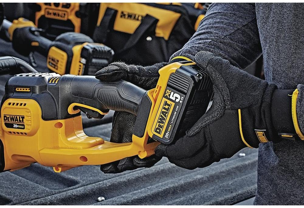 DeWalt 20V Max Cordless Hedge Trimmer battery pack