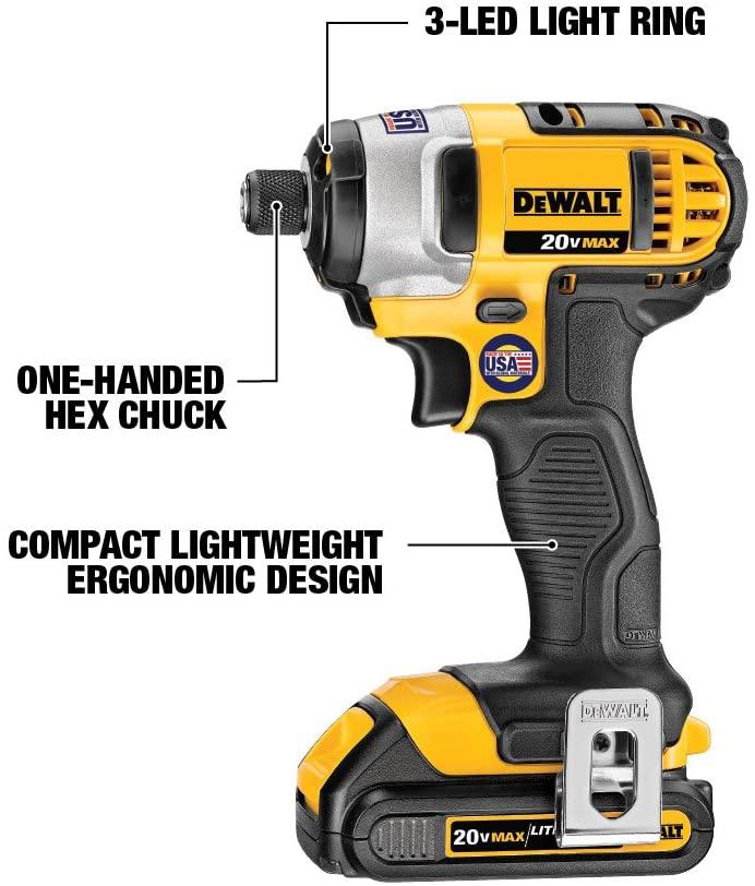 DeWalt 20V Max impact drill