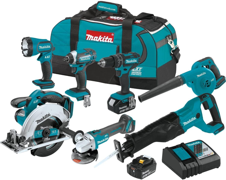 Makita XT706 3.0Ah 18V LXT Cordless Combo Kit