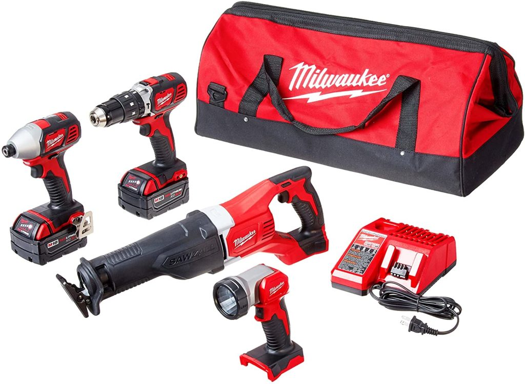 Milwaukee M18 Cordless Compact Tool Kit 2696-24