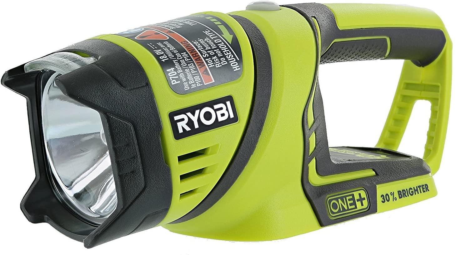 Ryobi P884 18V ONE+ flash light