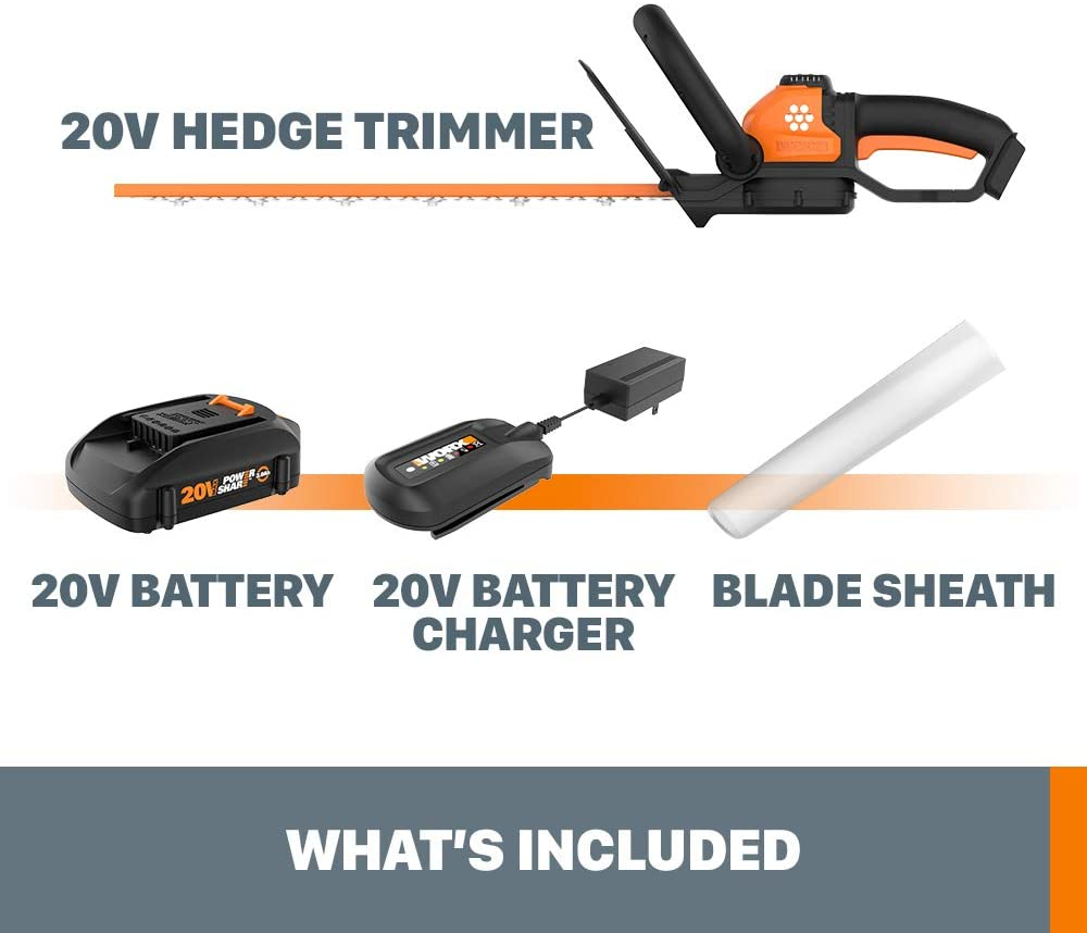 Worx WG261 Power Share Cordless Hedge Trimmer