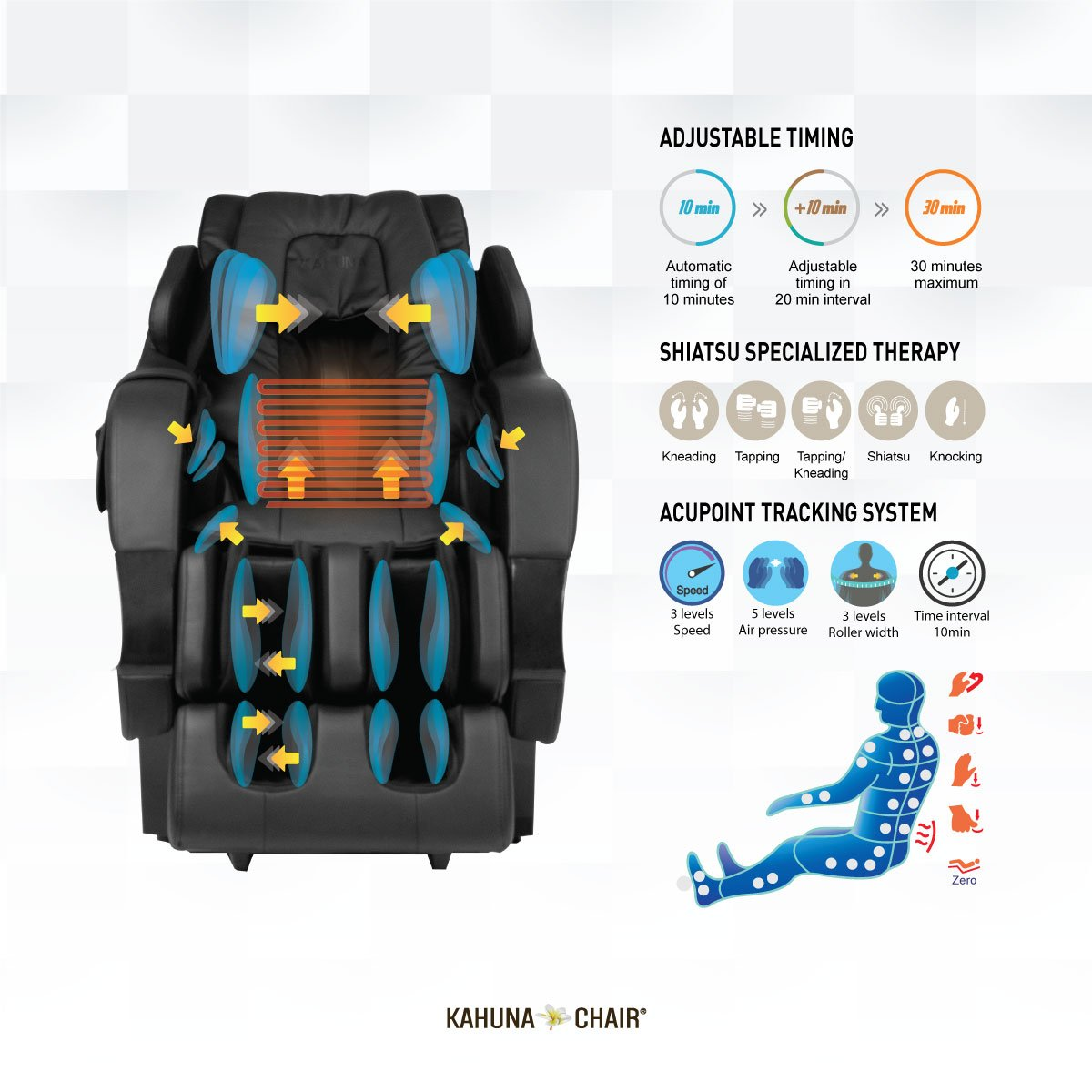 Kahuna SM-7300 Superior Massage Chair