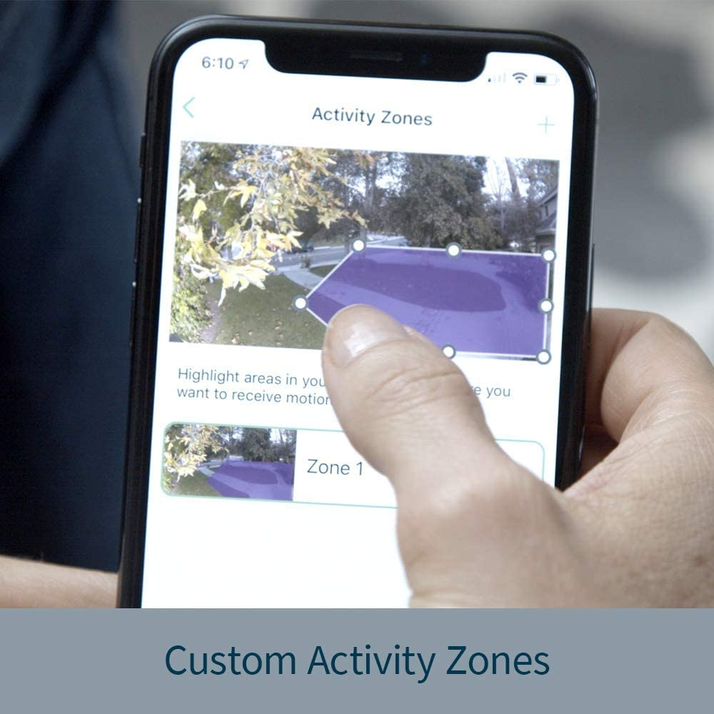 Arlo Pro 3 custom active zone