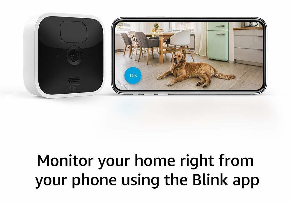 Blink Indoor Best Affordable Home Security Camera