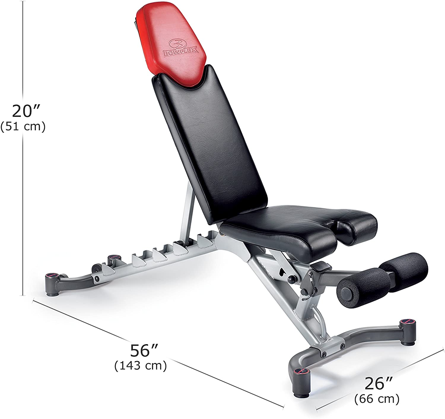 Bowflex SelectTech Adjustable Bench specs