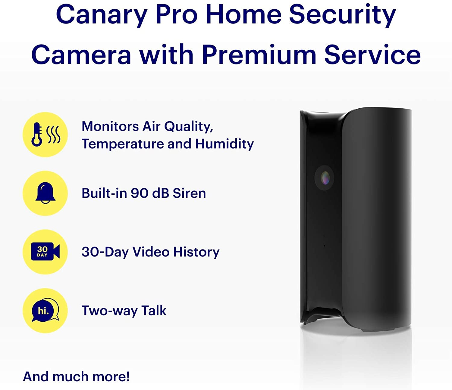 Canary Pro All-in-OneFeature-rich camera