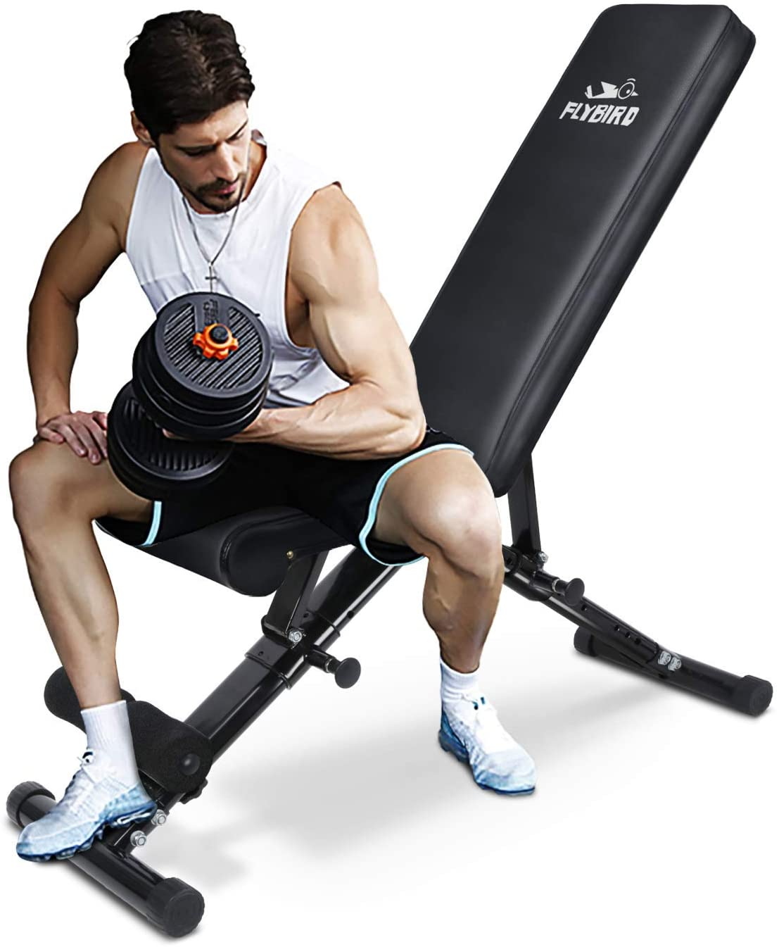 FLYBIRD Adjustable Strength Training Bench