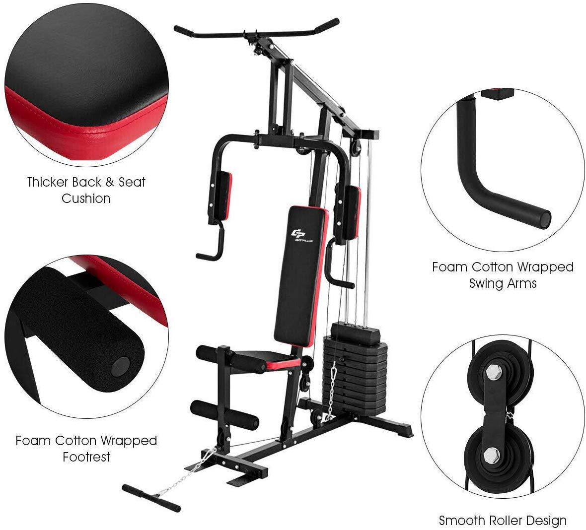 GOPLUS Multifunction Home Gym System