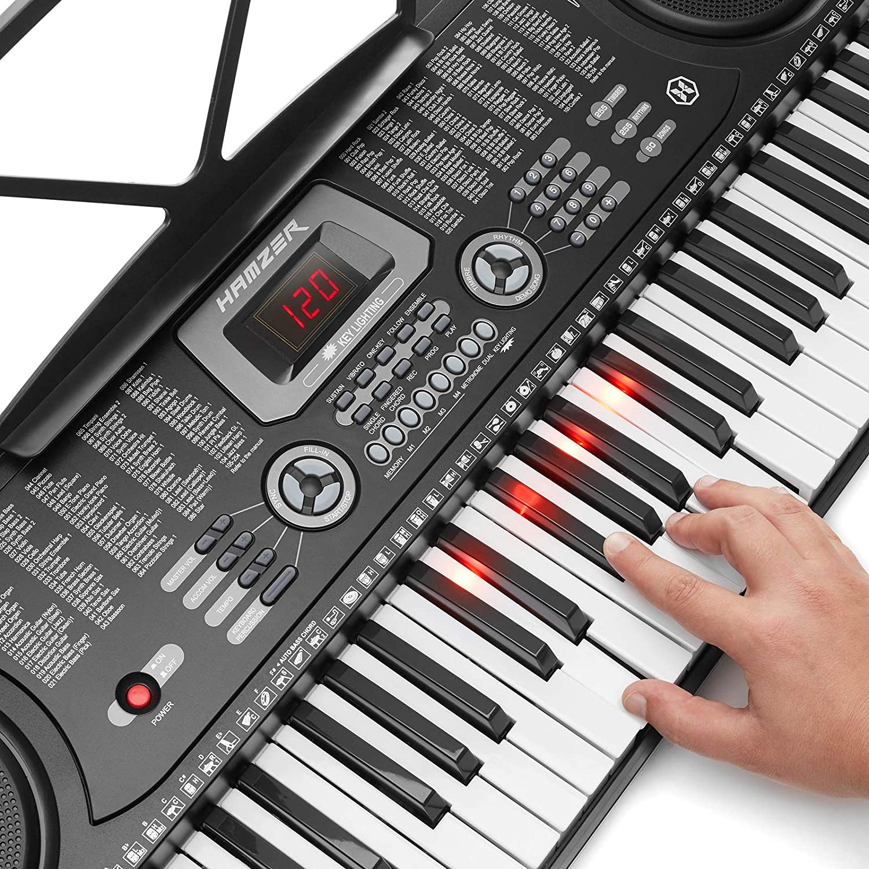 Hamzer 61-Key Electronic Keyboard Review options