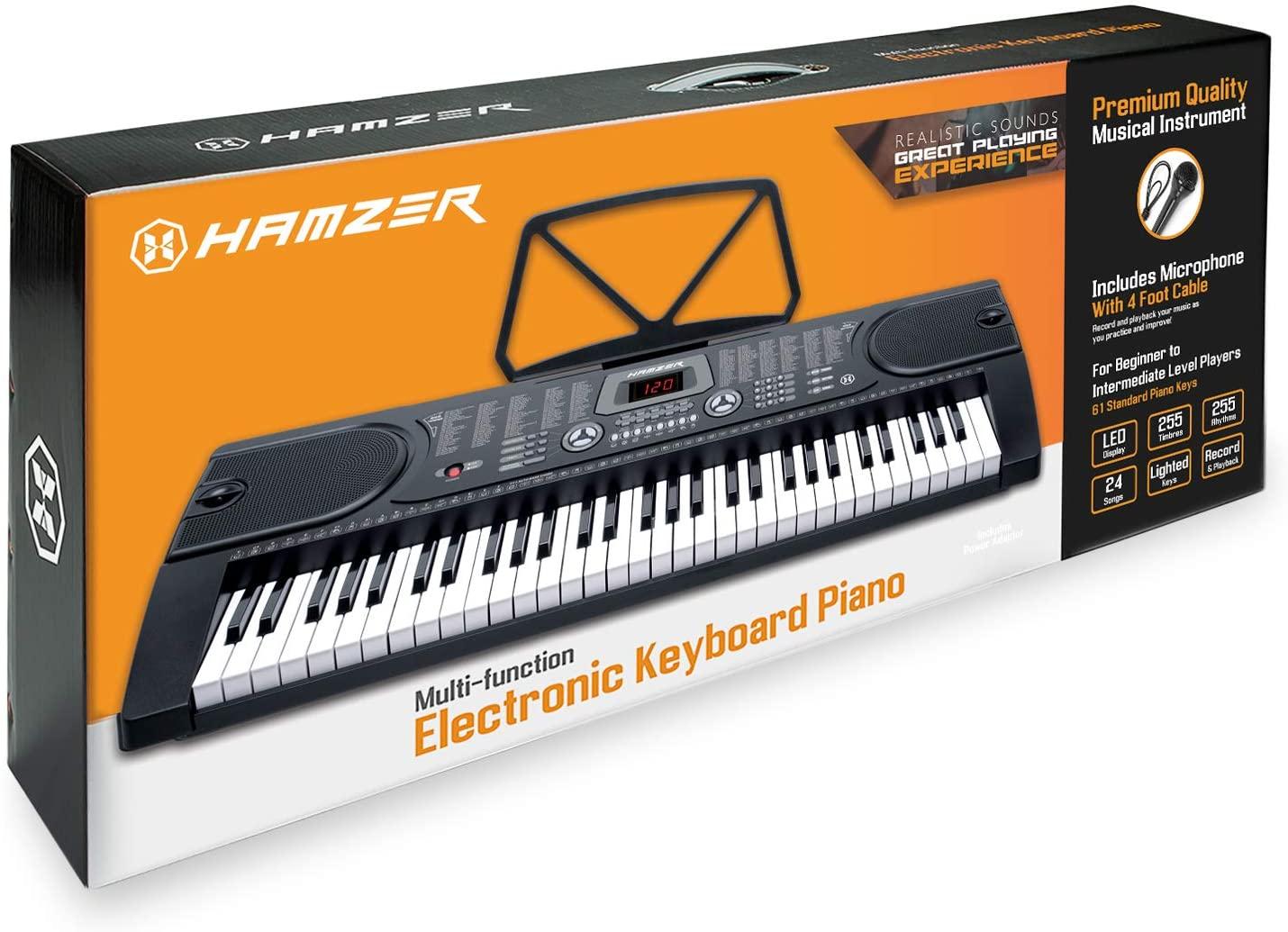 Hamzer 61-Key Electronic Keyboard box