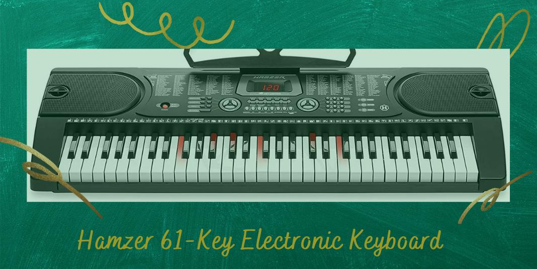 Hamzer 61-Key Electronic Keyboard