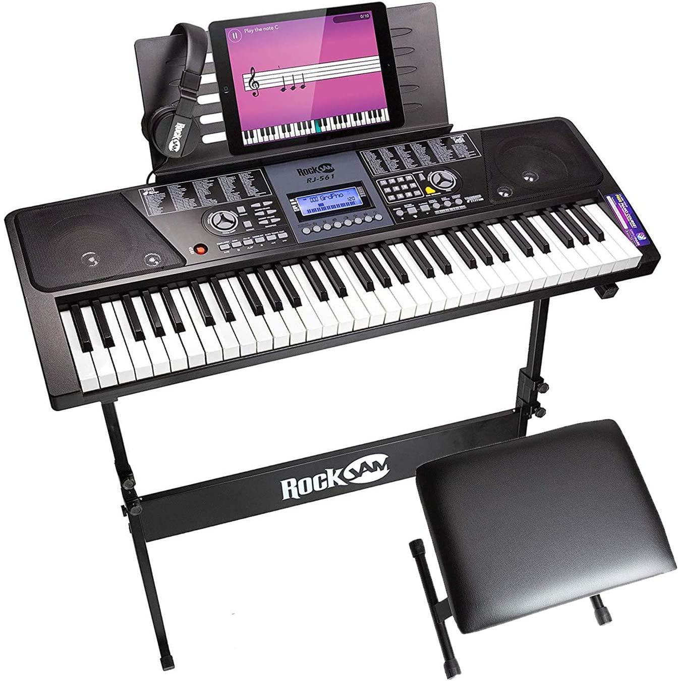 RockJam 61-Key Keyboard Piano