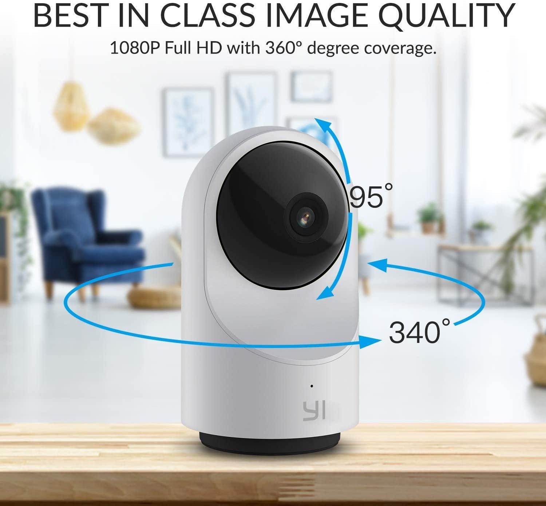 YI Smart Dome Camera degree view