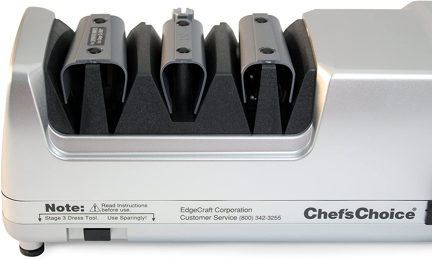 Chef's Choice Professional Knife Sharpener closeup