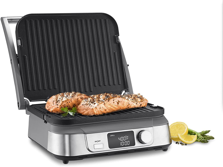 Cuisinart GR-5B Electric Griddler open