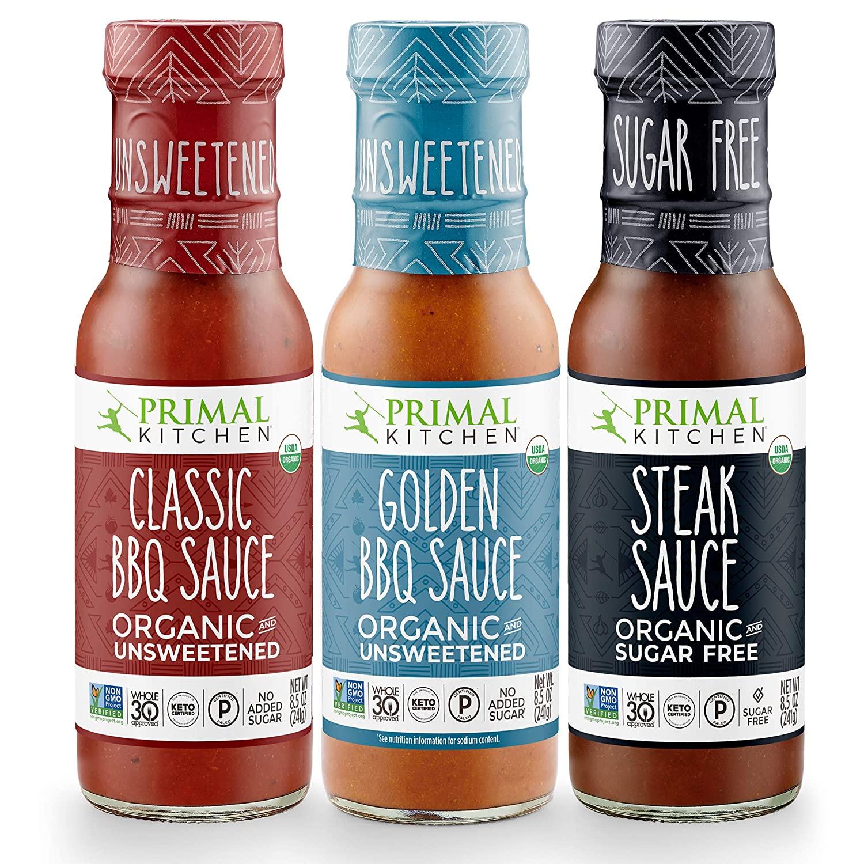 Primal Kitchen Barbecue & Steak Sauce