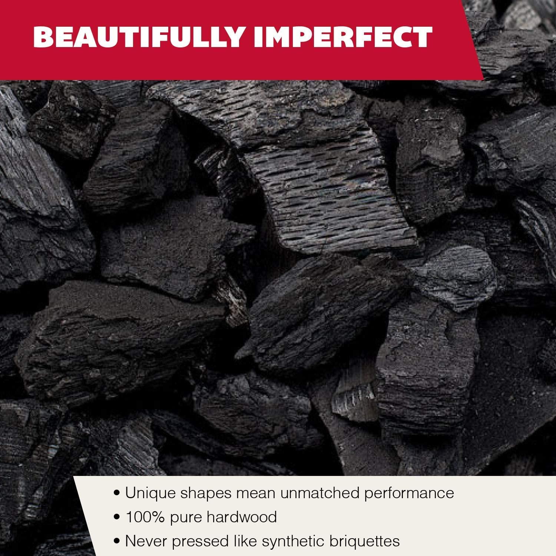 Rockwood All-Natural Hardwood Lump Charcoal size